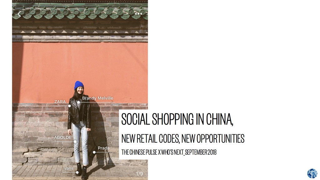 Social shopping en Chine, nouveaux codes retail, nouvelles opportunités